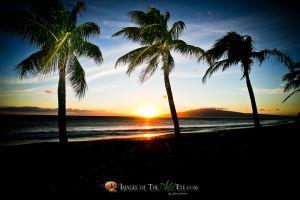 Sunset in Paridise